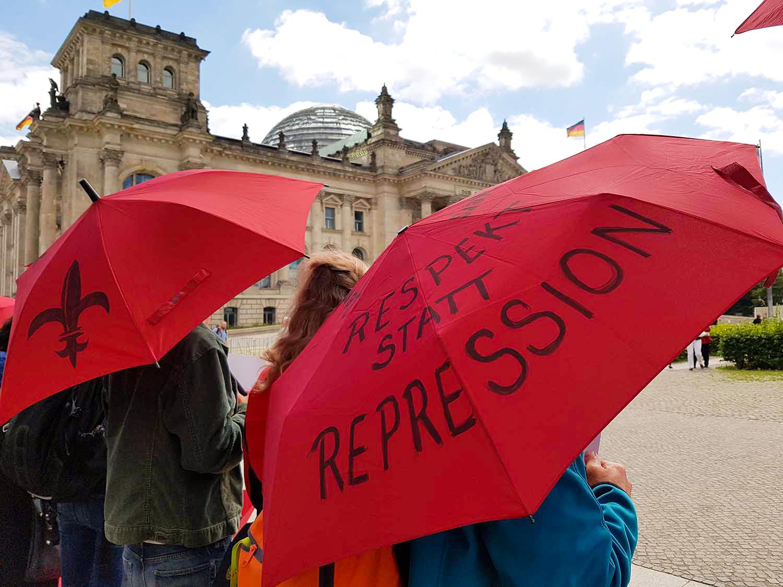 Protest gegen Prostituiertenschutzgesetz
